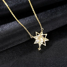 S925 Sterling Silver Necklace Female Clavicle Korean Fashion Freshwater Pearl Pendant Wholesale