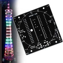 WiFi Bluetooth DIY LED Light Canton Tower Suite Wireless Remote Control Electronic Kit Music Spectrum Soldering Kits