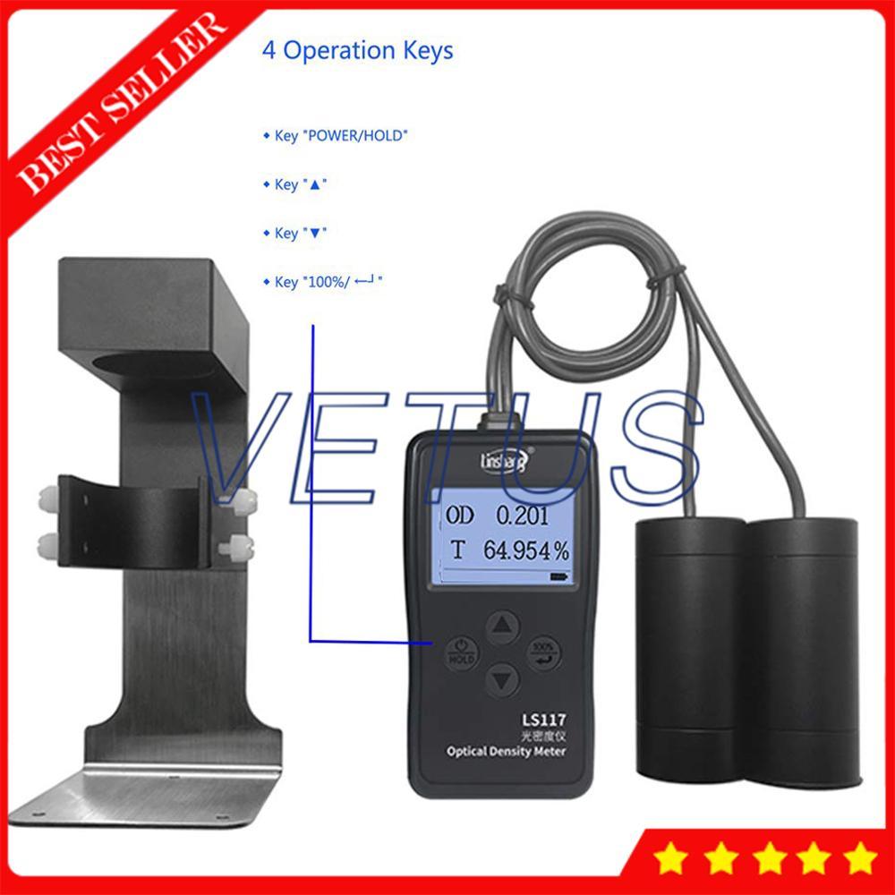 Ls117 2 In 1 Optical Density Tester Gauge Meter With Light Transmission Meter Digital Densitometer