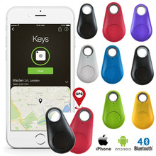 Mini Smart GPS Tracker Waterproof Bluetooth Tracker Anti-Lost Alarm Tag Wireless Finder Locator Pet Dog Cat Keys Wallet Bag Kids