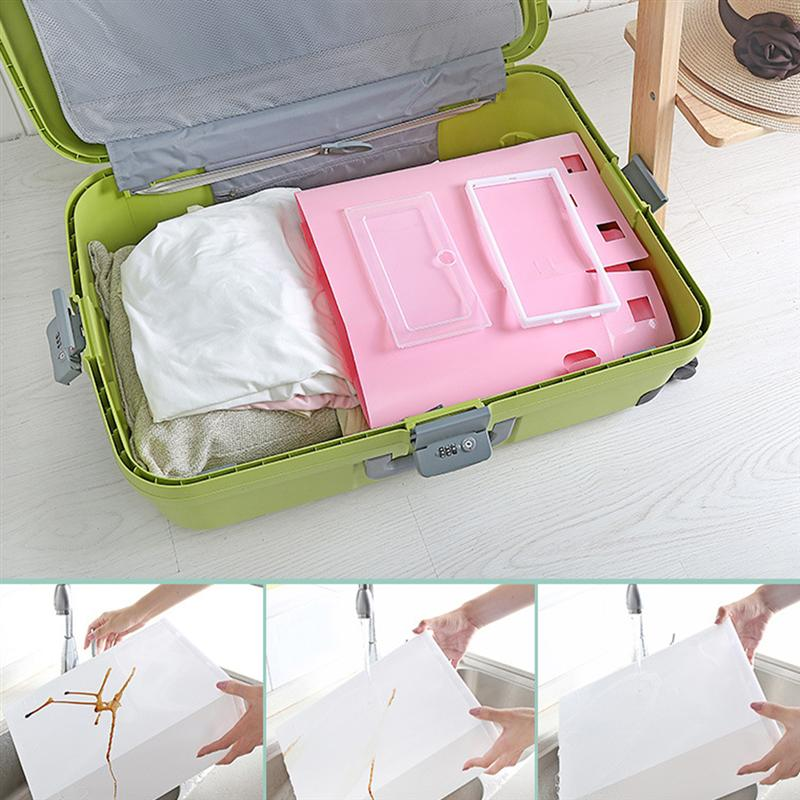 Transparent and Stackable Shoes Storage Boxes of Plastic in White Color 2