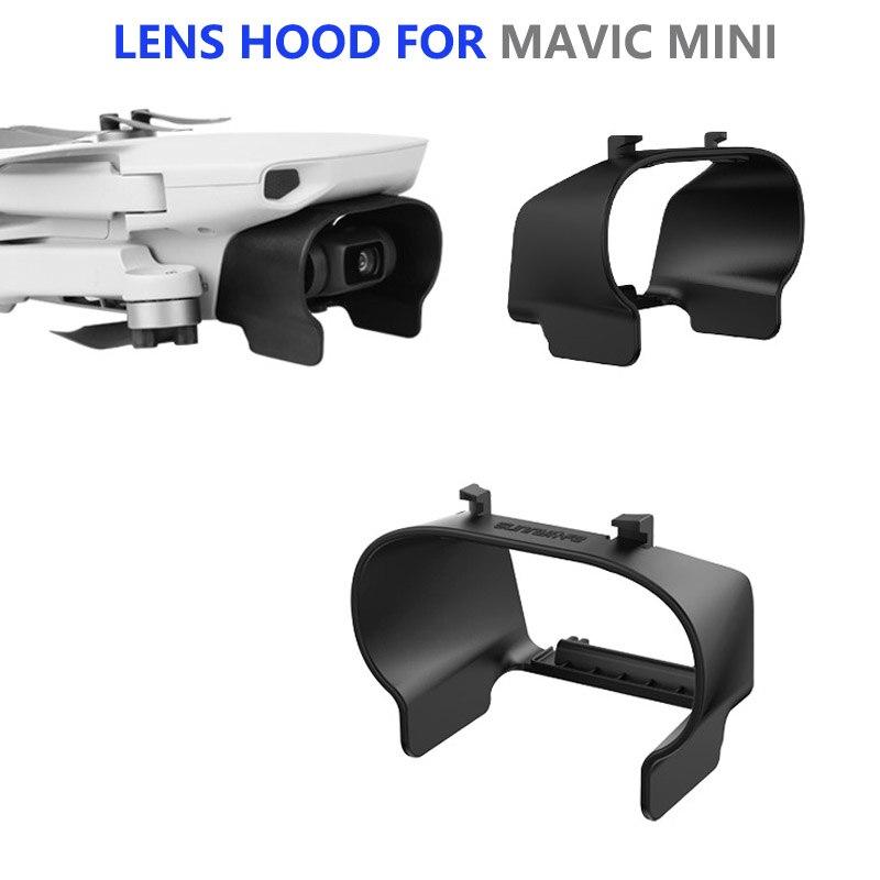 Capa de lente anti-reflexo capa de lente cardan capa protetora pára-sol para dji mavic mini drone acessórios