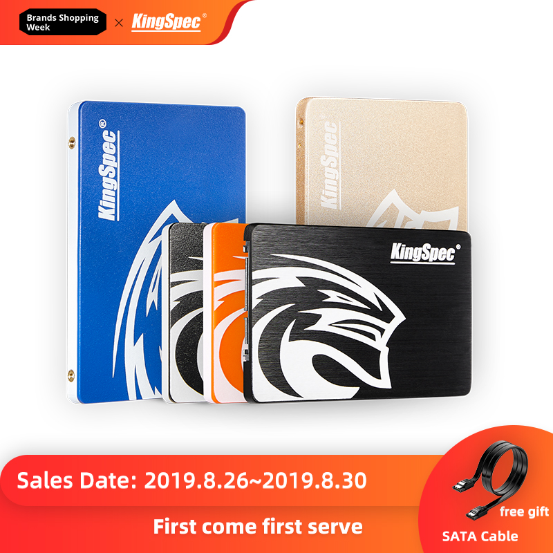 Kingspec Hard-Drive Computer Hdd Laptop Sata3 Ssd Internal 120gb Ssd 60GB 500GB Solid-State