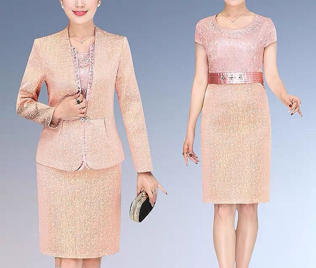 Lace Mother of the Bride Dress 5