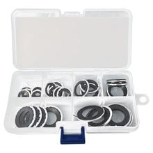 Klimaanlage Pumpe Washer 30Pcs A/C Kompressor Dichtung Washer Set O Ring Sortiment Reparatur Werkzeug