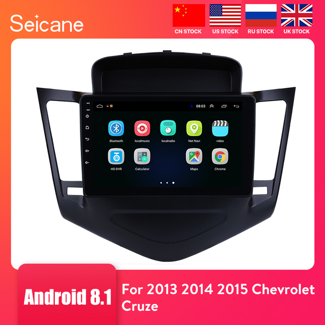 $ US $96.61 Seicane 9 Inch Android 8.1 Multimedia Player For 2013 2014 2015 Chevrolet Cruze GPS Navi 2din Car Radio Touchscreen Head Unit