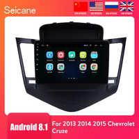 Seicane 9 Zoll Android 8,1 Multimedia Player Für 2013 2014 2015 Chevrolet Cruze GPS Navi 2din Auto Radio Touchscreen Kopf einheit