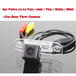 Image 3 - Telecamera di retromarcia per Volvo XC60/V40/V60/S60/S80L 2012 ~ 2014 Adattatore di Interfaccia di Sostegno della Parte Posteriore telecamera Collegare Originale Schermo MMI