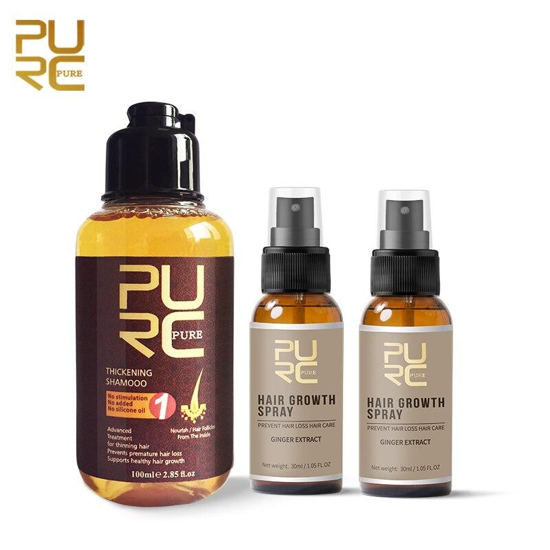unissex calvicie anti queda cabelo crescimento soro spray fortalecer o cabelo shampoo alopecia tratamento