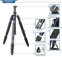 W1004 Sirui Aluminum Professional Tripod Monopod Combo Hybrid For Digital Camera Water/Sand/Dust Proof Portable 2.7KG
