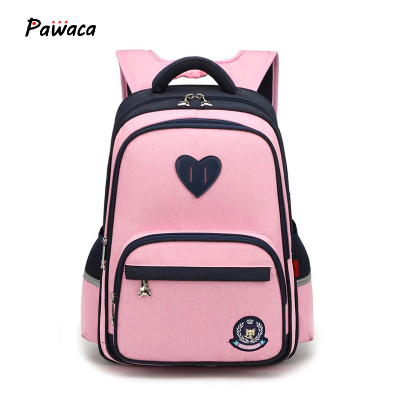 Girl's School Bags Boy's Lightweight Waterproof Wear-resistant Outdoor Leisure Backpack Kids Bags Primary Children's Backpacks