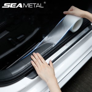 Car Door Protective Sticker Transparent Nano Tape 10m Car Stickers Styling Mouldings Auto Bumper Protector Films Anti Collision
