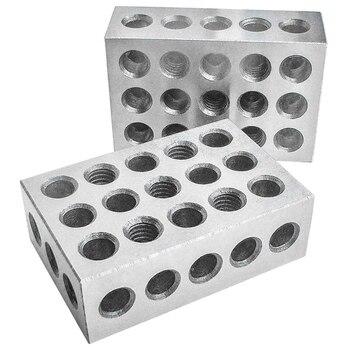 Промо-акция! Закаленные стальные блоки 23 Отверстия параллельный зажимной блок токарные инструменты точность 0,0002 мм для станка