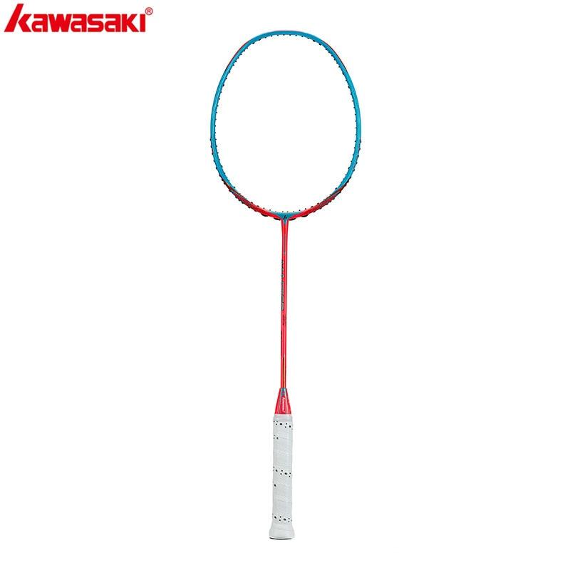 2020 Kawasaki Badminton Racket  Carbon Fiber Professional Racquet Master 900 (4U) With Gift