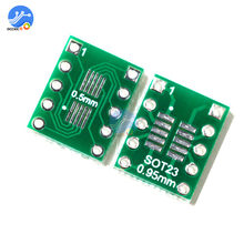 10 Buah IC SOT23 SSOP10 MSOP10 UMAX 0.5/0.95 Mm DIP Adaptor Papan PCB Converter(China)
