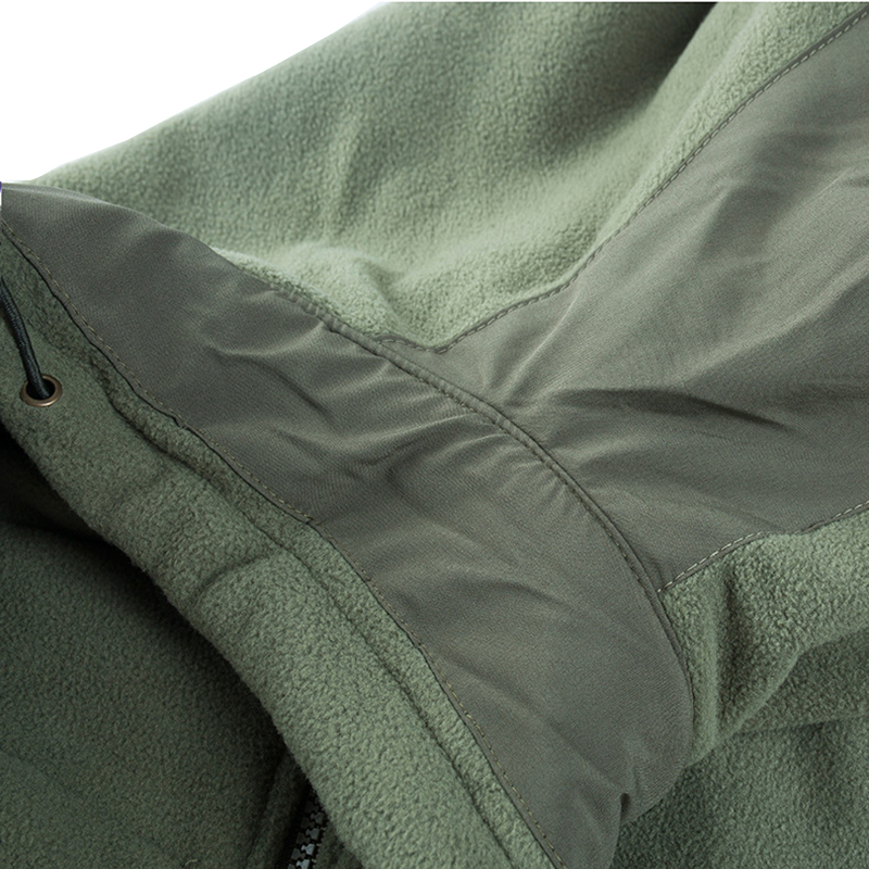 TACVASEN Military Tactical Jackets Men Winter Thermal Fleece Jackets Coats Army Combat Jackets Windproof Overcoats Windbreaker