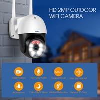 Kerui-cámara IP N9 PTZ de 2MP, videocámara de seguimiento automático, WiFi, detección de movimiento, seguridad del hogar, CCTV, vigilancia al aire libre