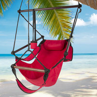 Outdoor Hanging Chair Travel Portable Hammock Chair With Detachable Pillow Garden Hiking Camping Swing Chair Seat