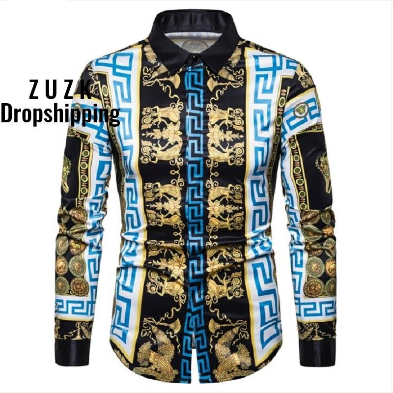12 Colors Good Quality Soft Material Men Fashion Slim Fit Shirt Men's Luxury Retro Trend Long Sleeved  Camisa Masculina Shirt