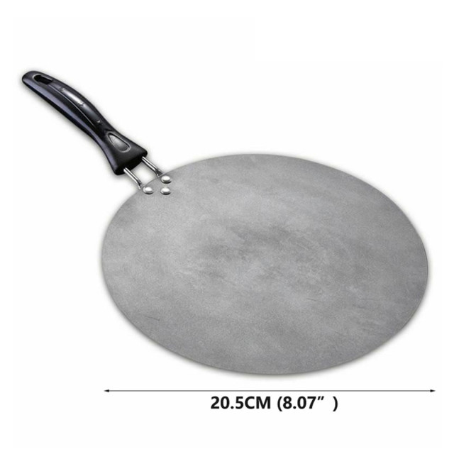 TTLIFE 30cm Kitchen Griddle Pan Non-stick Grill Cast Iron Omelet Crepe Round Cookware Pancake Pan 6