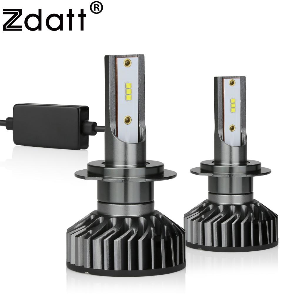 Zdatt H7 Diode Lamps Ice Lamp H8 H9 H11 LED Bulbs H1 9005 HB3 9006 HB4 Foglights Bulb 12000LM 100W 6000K 12V Automobiles
