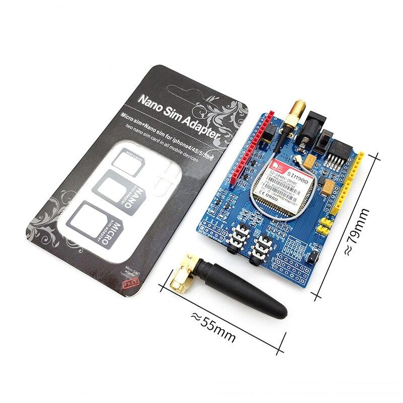 10pcs SIM900 GPRS/GSM Escudo Placa de Desenvolvimento do Módulo Quad-Band