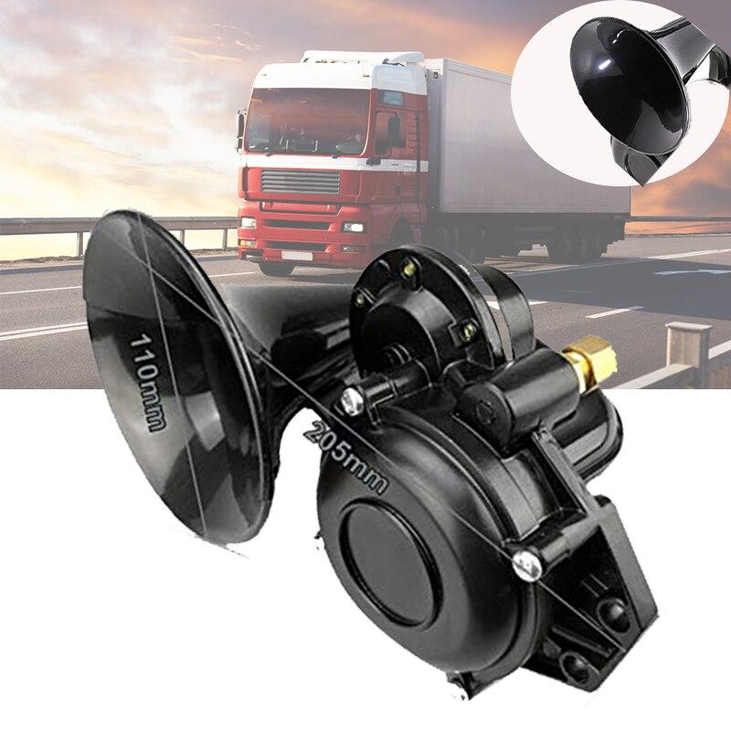 Универсальный автомобильный клаксон 135db 12/24 В супер громкий клаксон с электрическим клапаном плоские автомобильные аксессуары