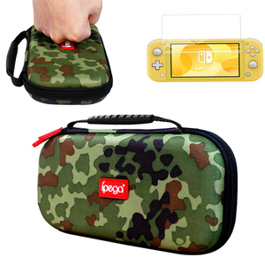 Image 1 - Nintend Switch Lite 2019 Storage Bag Case Camouflage Carrying Travel Handbag Pouch Shell For Nintendo Switch Lite Mini Console