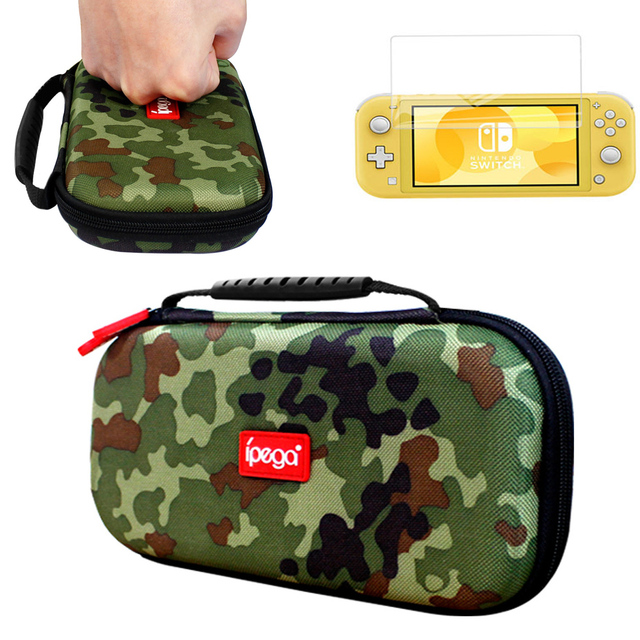 Nintend Switch Lite 2019 Storage Bag Case Camouflage Carrying Travel Handbag Pouch Shell For Nintendo Switch Lite Mini Console