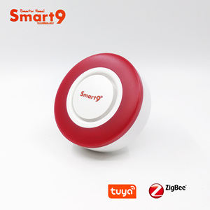Image 1 - Smart9 ZigBee Alarm Hooter współpracuje z hubem TuYa ZigBee, inteligentną syreną z automatyką dźwięku i latarka przez Smart Life App