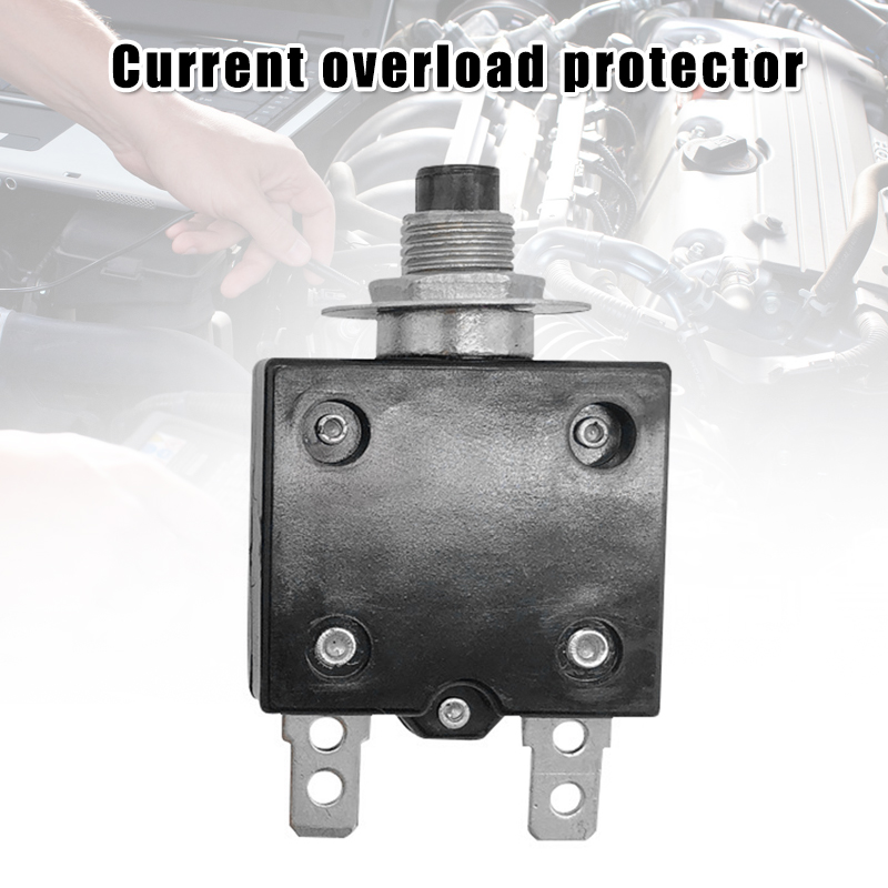 Car plug-in overload protector 15A reset safety