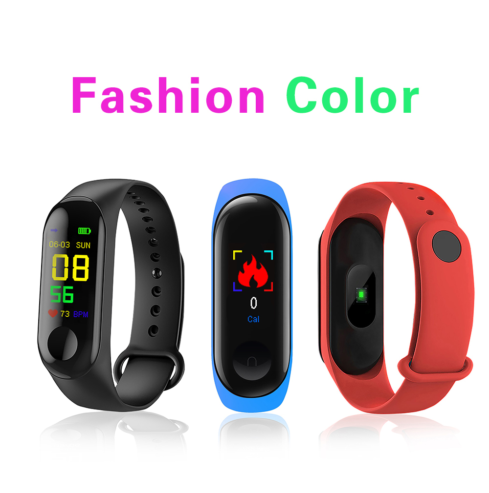 M3Pro Smart Watch Sport Smart Band Blood Pressure Monitor Smart Wristband Smartwatch Bracelet M3 Plus Wristband for Men Women 8