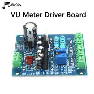 Image 2 - 2 ADET Paneli VU Metre 500VU Sıcak Arka Işık Ses Seviyesi Ölçer Amplifikatör Gösterir Ve 1 ADET Dayanıklı VU sürücü panosu ücretsiz Kargo