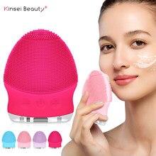 Sonic cara cepillo de limpieza de silicona limpiador Facial cepillo de limpieza Facial poro profundo de limpieza de cara masaje Mini cara herramienta de cuidado
