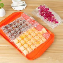 500pcs Ice-making Bags Disposable Water Injection Cocktail Maker Drink Ice Molds Summer DIY Drinking Tool Bar Kitchen Gadgets automobile cheap plastic injection molds making