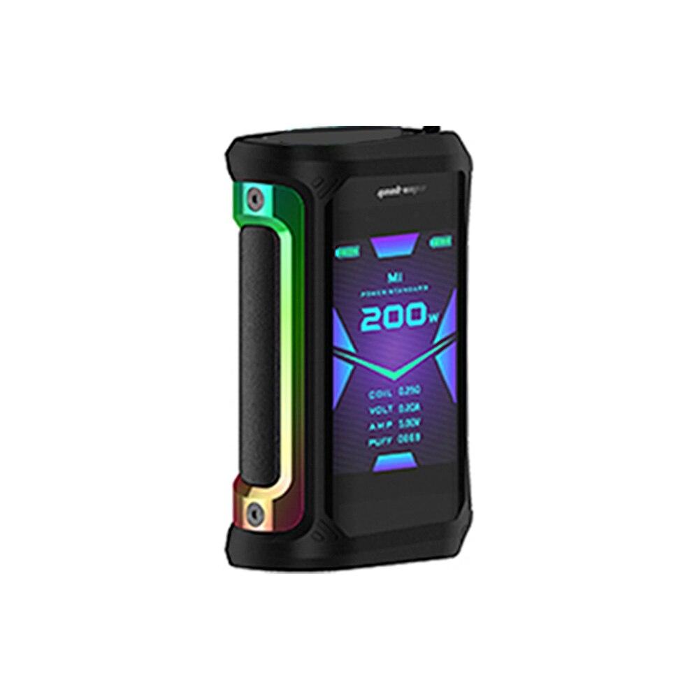 Gratuit Zeus X RTA & coton!! 200W Geekvape Aegis X Box Mod alimenté par double batterie 18650 Max 200W e-cig Vape Mod Box vs Aegis solo - 6