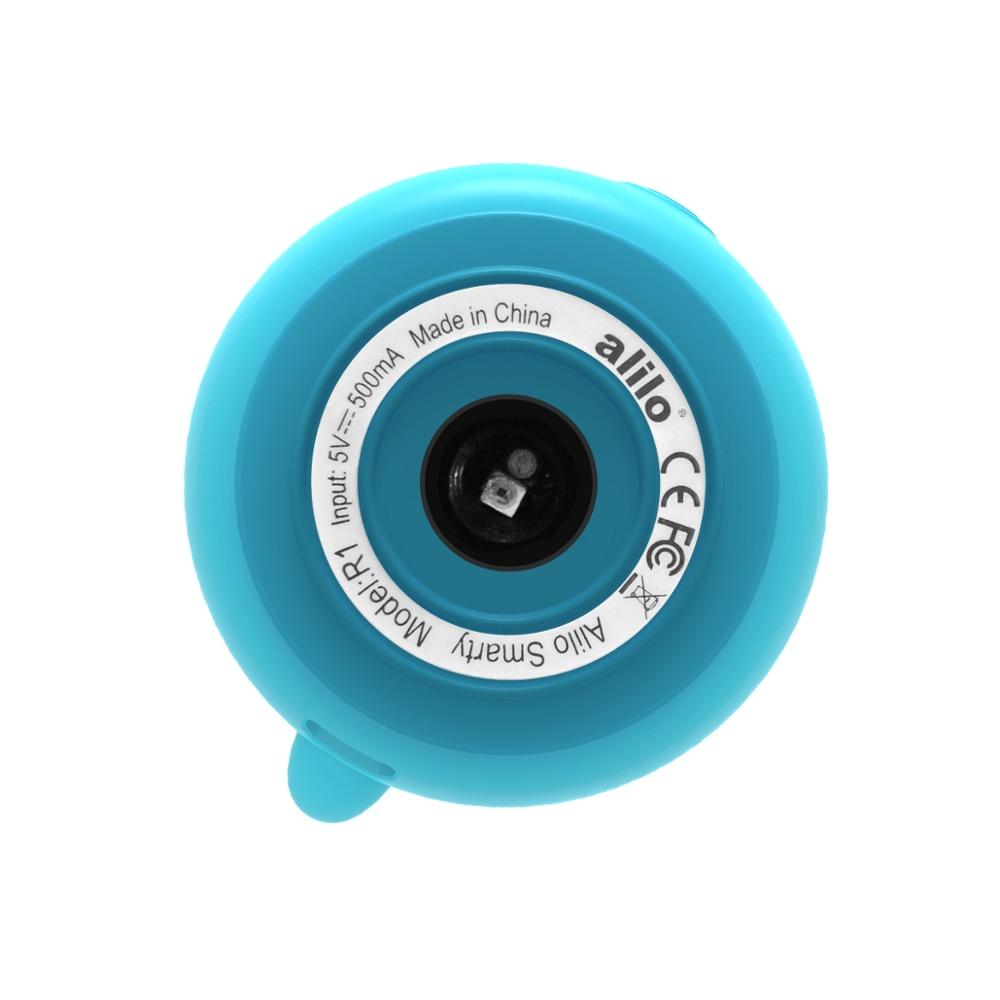 Alilo Smarty R1 синие детские стишки для новорожденных Обучающие интеллектуальные роботы cozmo smart househ sing machine mp3-плееры