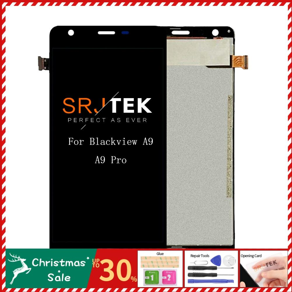 """5"""" For Blackview A9 A9 Pro LCD Dispaly Touch Screen Digitizer Assembly With Frame for Blackview A9 Pro Glass Replacement Parts"""