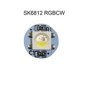 Image 3 - 10 500pcs 5050 SMD WS2812B RGB SK6812 RGBW LED 칩 미니 PCB 보드 (10mm * 3mm) 히트 싱크 블랙 화이트 PCB DC5V