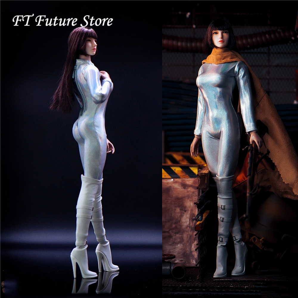 LIFSTOYS 1/6 Scale Sexy Female Figure Accessory Tights Jumpsuit Clothes for 12inch Phicen Big Bust Action Figure Body image