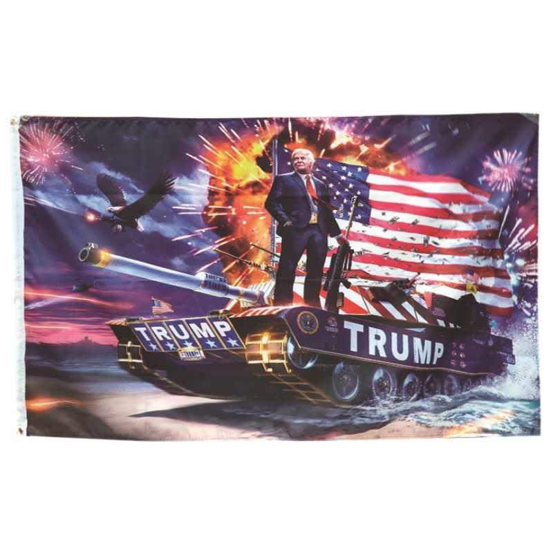 90*150 سنتيمتر أعلام الرئيس الأمريكي 2020 مزدوجة الوجهين المطبوعة دونالد ترامب راية إبقاء أمريكا العظمى مرة أخرى دونالد ترامب موضوع هدية