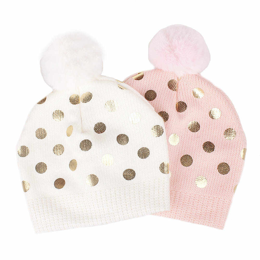 SAGACE เด็กทารกหมวกเด็กทารกแรกเกิดถักหมวกโครเชต์เด็ก Venonat Dot Beanies Boys Girls หมวก Headwear เด็กวัยหัดเดินผ้าขนสัตว์หมวก