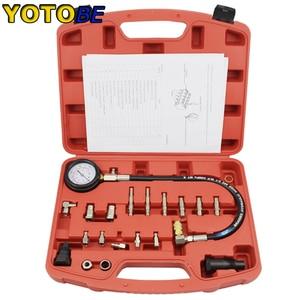 Image 1 - Manometer Hoofd TU 15A Dieselmotor Compressie Tester Kit
