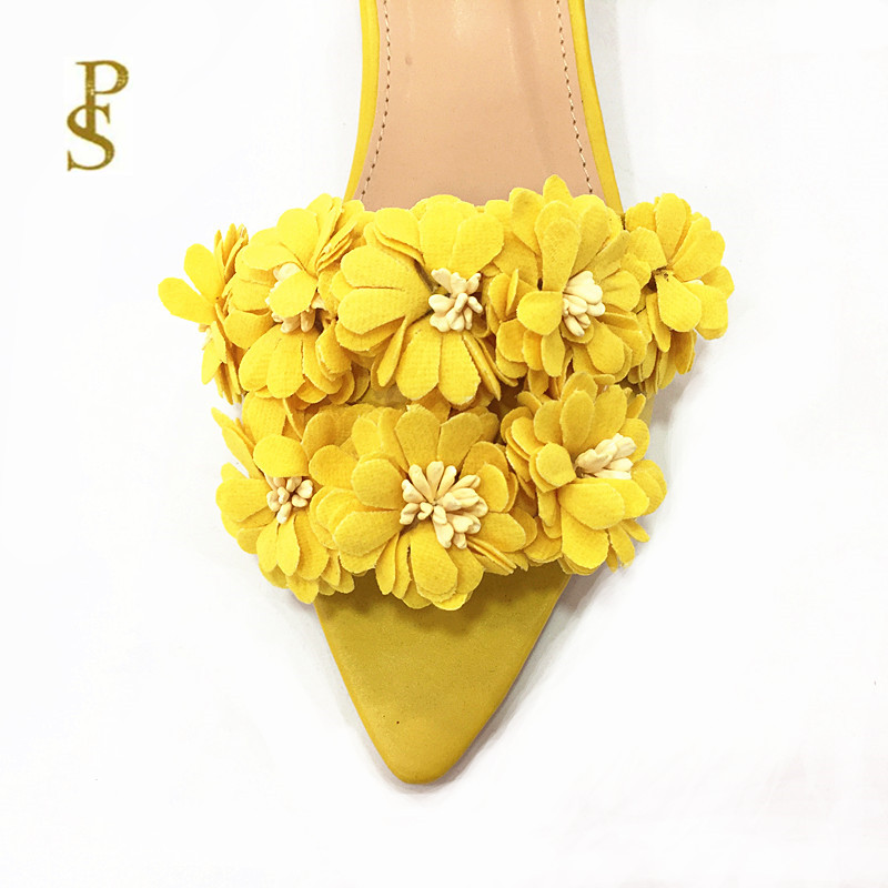 Image 5 - Womens shoes with flowers flat shoes pointed shoes lovely shoesSlippers   -