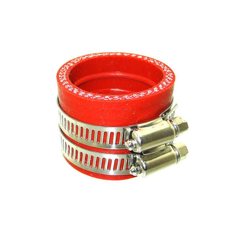 XLSION אדום כחול קרבורטור פחמימות 40mm צריכת צינור גומי סעפת מתאם אתחול שרוול משותף עבור בור אופנוע