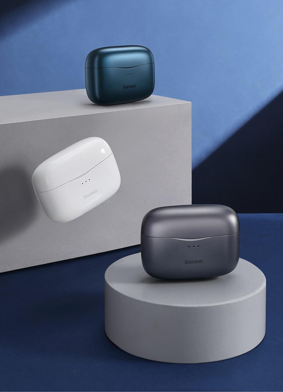 Baseus S2 ANC Earphone Active Noise Cancelling Hi-Fi Audio Gaming TWS Earphone NGS2-03 9
