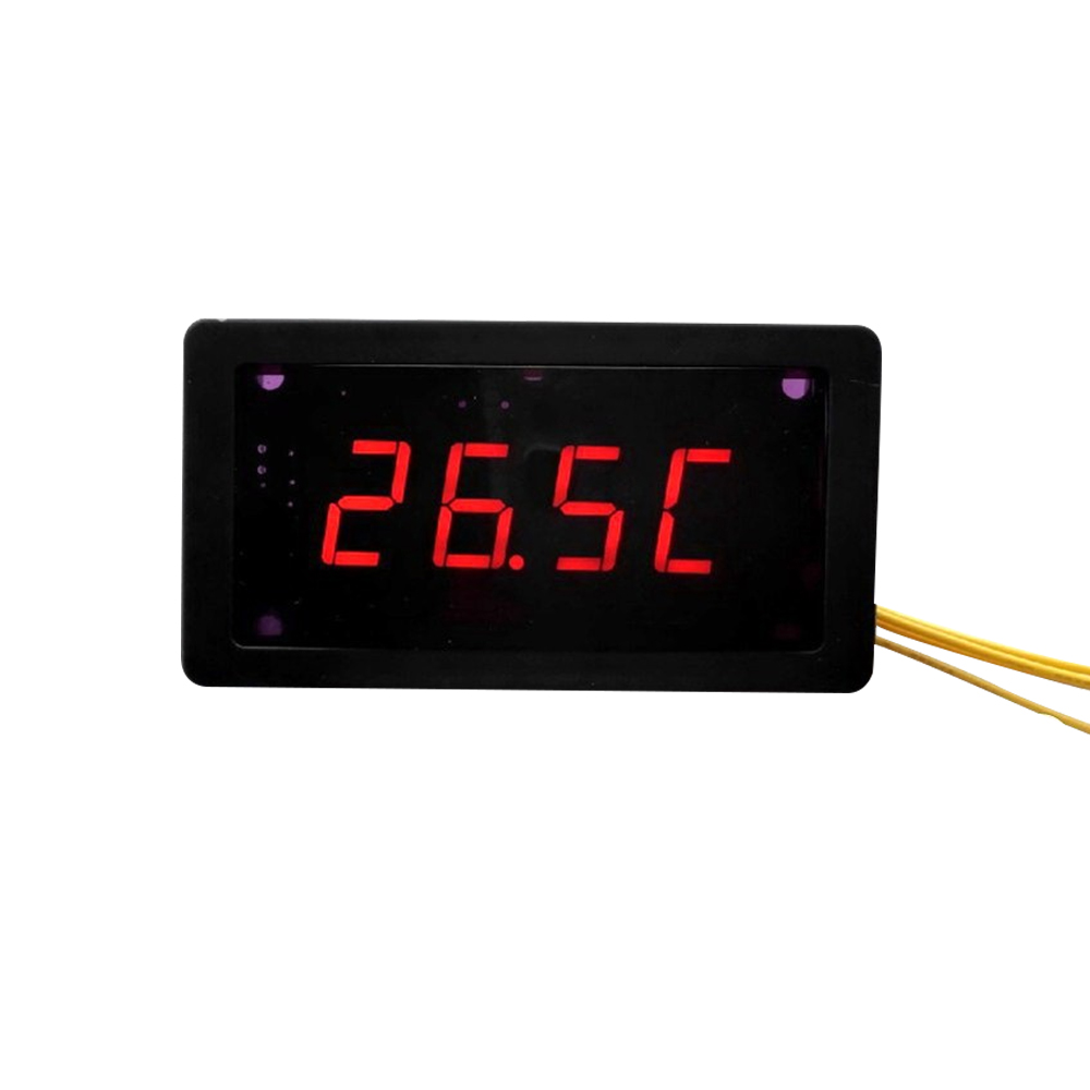 Temperature Acquisition Module LED Display Surge Lightning <font><b>DS18B20</b></font> 485 Communication <font><b>MODBUS</b></font>-RTU image