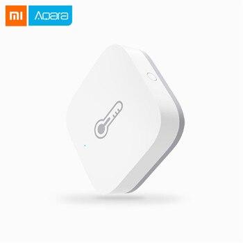 Xiaomi mijia Aqara Smart Air Pressure Temperature Humidity Sensor Environment Sensor Work With Android IOS Mijia APP Control https://gosaveshop.com/Demo2/product/xiaomi-mijia-aqara-smart-air-pressure-temperature-humidity-sensor-environment-sensor-work-with-android-ios-mijia-app-control/
