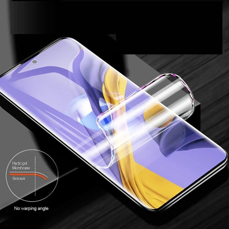 Изогнутая пленка для samsung Galaxy A51, защитная пленка для экрана, 6,5 дюймов, полное покрытие, Гидрогелевая пленка с инструментами, не закаленное стекло Защитные стёкла и плёнки      АлиЭкспресс