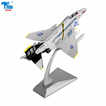 Terebo 1:100 American F-4C ghost F4 alloy fighter model simulation aircraft decoration toy collection gift стоимость
